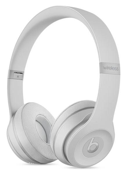 Beats Solo3 Wireless, matně stříbrná (MR3T2EE/A)
