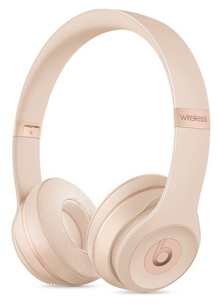 Beats Solo3 Wireless, matně zlatá (MR3Y2ZM/A)