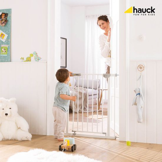 Hauck Autoclose´n Stop Safety 2019 zábrana white - zánovní