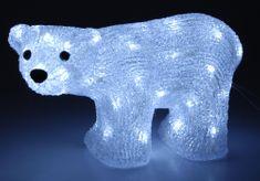 Metalac 50 LED medvěd akryl 30x18 cm