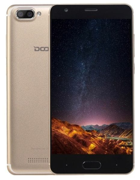 Doogee X20 1GB/16GB, Dual SIM, zlatý