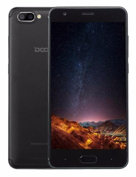 Doogee X20 1GB/16GB, Dual SIM, černý