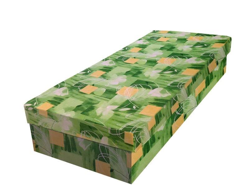 Válenda JUNIOR 80x195 cm, zelená látka