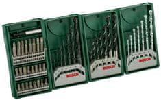 Bosch komplet svedrov in vijačnih nastavkov Mini-X-Line Multipack 3+1 (2607017071)