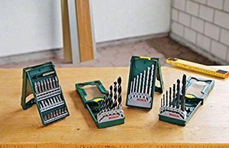 Bosch komplet svrdala i bit nastavaka Mini-X-Line Multipack 3+1 (2607017071)