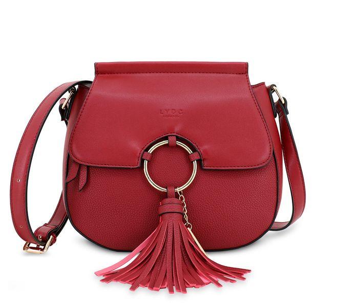 Lydc červená kabelka
