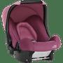 1 - Britax Römer fotelik samochodowy BABY-SAFE 2019, Safe Wine Rose