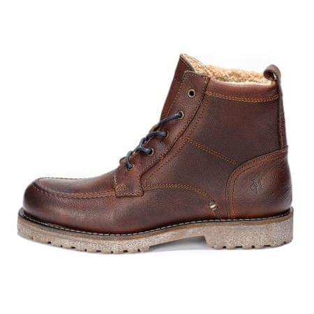 Marc O´Polo pánská kotníčková obuv 42 hnědá  0b5b7f95b9