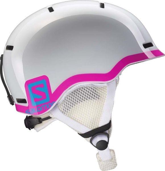 Salomon Grom White Glossy/Pink K S 49-53
