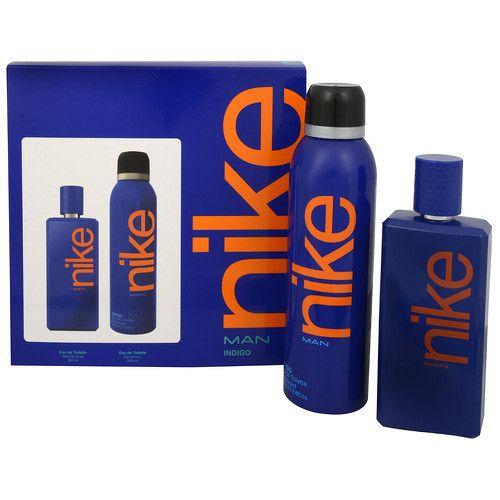 Nike Indigo - toaletní voda s rozprašovačem 100 ml + deodorant ve spreji 200 ml