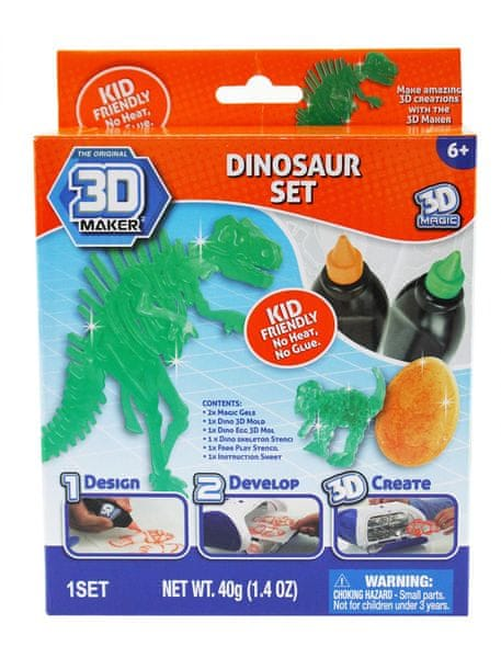 3D Magic Tématická sada - Dinosauři