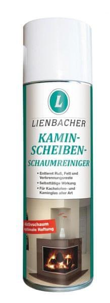 Lienbacher Pěnový čistič krbových skel 300 ml