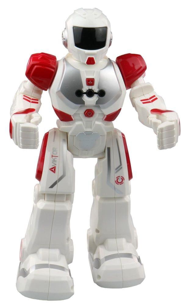 MaDe Robot Viktor na IR dálkové ovládání - červený