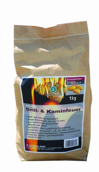 Lienbacher Podpalovací smotky 1 kg pro kamna, krby