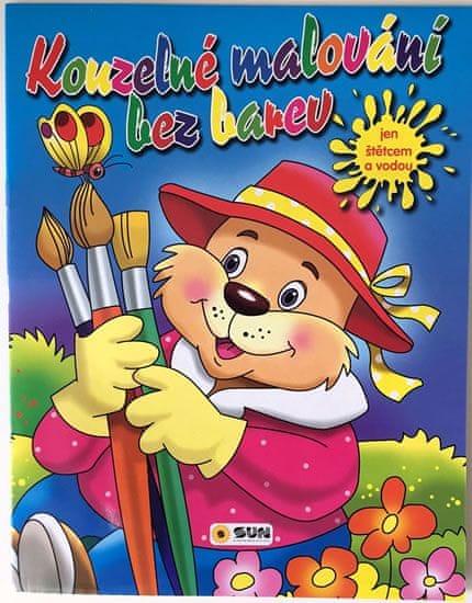 Medvídek - Kouzelné malování bez barev