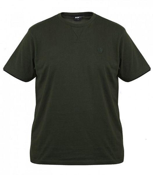 Fox Tričko Green Black Brushed Cotton T Shirt M