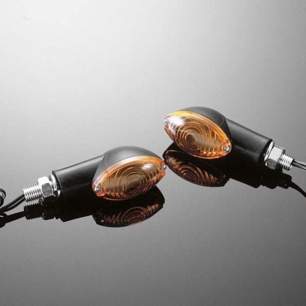 Highway-Hawk moto blinkry CATEYE malé, černá (2ks)