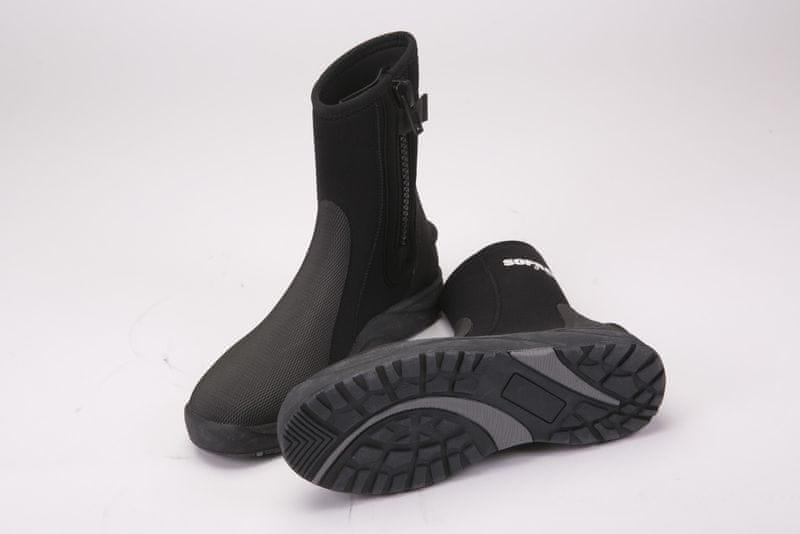 SOPRASSUB Boty 5mm neoprenové černé, 8