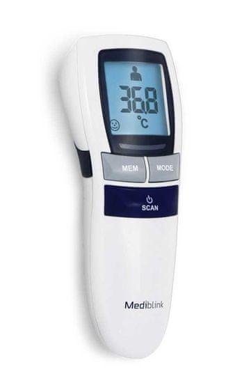 Mediblink M320 6v1 brezkontaktni termometer - Odprta embalaža