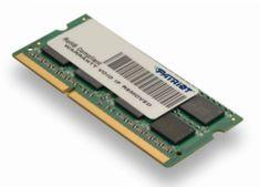 Patriot pomnilnik 4GB DDR3 1600MHZ SODIMM 1,35V (PSD34G1600L2S)