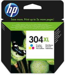 HP kartuša 304XL, barvna, 300 strani (N9K07AE)