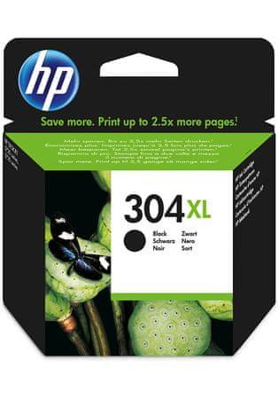 HP kartuša 304XL, črna, 300 strani (N9K08AE)