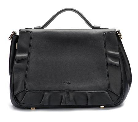 Nalí ženska torbica crna