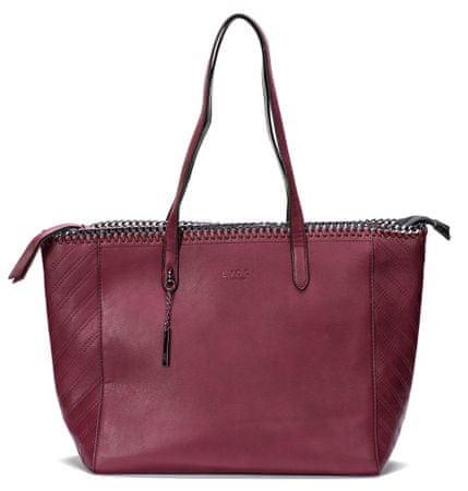 Lydc ženska ročna torbica vinska UNI