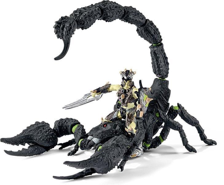Schleich Bojovník na škorpionovi 70124