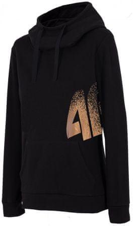 4F Damska bluza sportowa H4Z17 BLD005 XS czarny