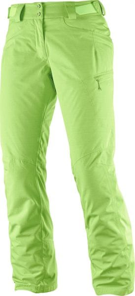Salomon Fantasy Pant W Acid Lime Heather S/R