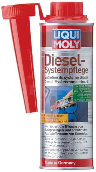 Liqui Moly zaščita za sistem vbrizga skupnega voda Diesel System Treatment, 250 ml