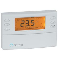 Seitron tedenski termostat, LCD zaslon
