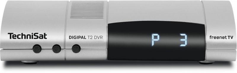 Technisat DIGIPAL T2 DVR, stříbrná