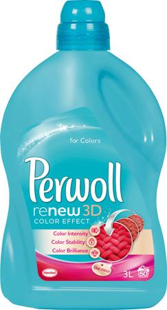 Perwoll Color Folyékony mosószer, 3 l