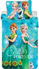Jerry Fabrics Povlečení Frozen sisters forever