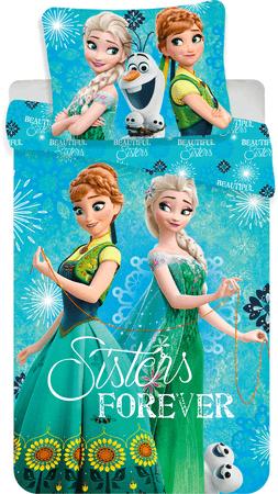 Jerry Fabrics Obliečky Frozen sisters forever