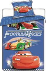 Jerry Fabrics posteljnina Cars Races 140x200, 70x90 cm