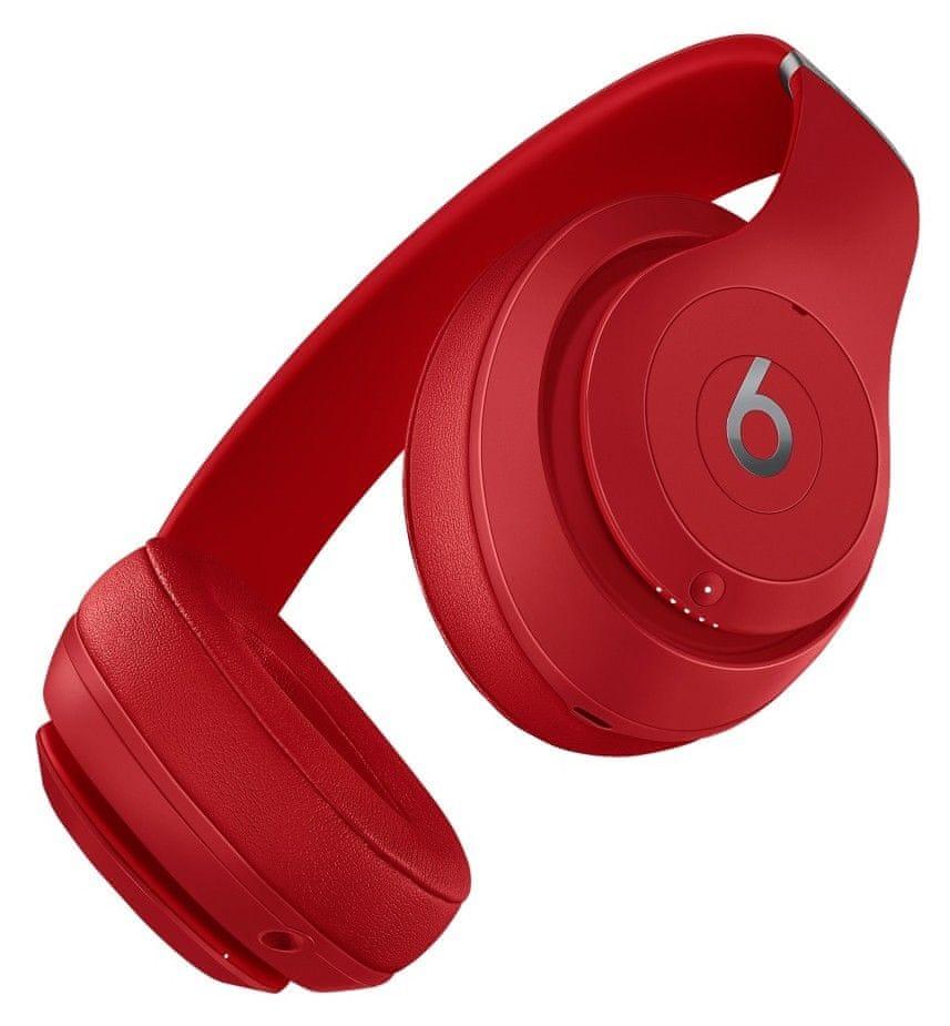 Beats Studio3 Wireless bezdrátová sluchátka červená (MQD02EE/A)