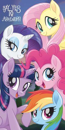 Jerry Fabrics Gyerek törölköző My Little Pony 70x140 cm