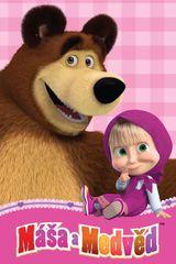 Jerry Fabrics koc polarowy dziecięcy Masza i Niedźwiedź 100x150 cm