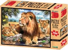 Lamps 3D Puzzle Lion 500 dílků