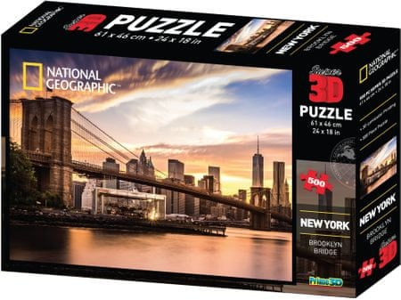 Lamps 3D Puzzle New York 500 dielikov