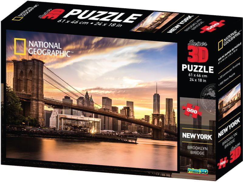 Lamps 3D Puzzle New York 500 dílků