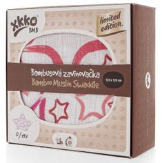 XKKO Bambusová zavinovačka Limited Edition 120x120 cm