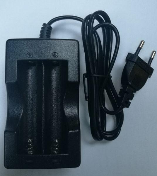 ARCHON Nabíječka akumulátorů 18650 3,7 V
