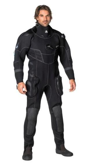 WATERPROOF Oblek D10 PRO suchý 3,5mm - Pánský, XXL/t
