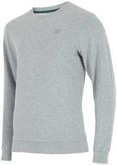 4F męska bluza H4Z17 BLM001 jasny szary melanż