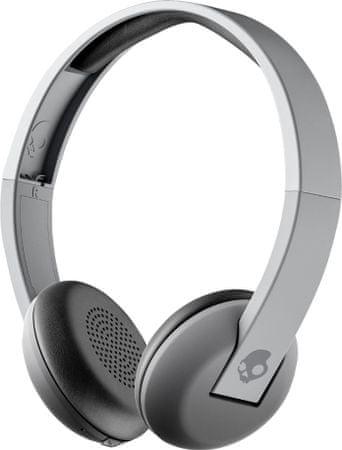 Skullcandy brezžične Bluetooth slušalke Uproar Wireless, siva