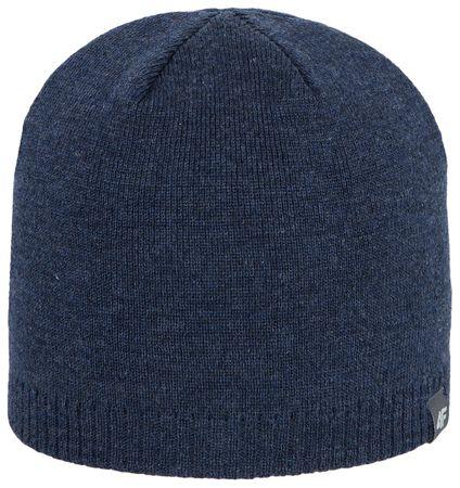 4F Damska czapka H4Z17 CAM001 denim melanż L-XL